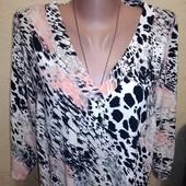 Вискозная блузочка 16/44 размера.