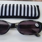 Солнцезащитные очки с диоптриями +3