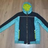 Теплая куртка деми еврозима р.14 лет 170/176 см или S