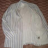 Стильный, фирменный пиджак н&м