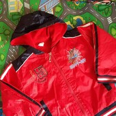 Весенняя курточка на флисе