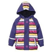 Нова термо куртка дощовик на флісі Lupilu, р.86-92. Дождевик грязепруф