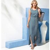 элегантное макси платье от Esmara. 100% lyocell