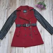 Женское демисезонное пальто р 44-46