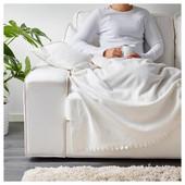 Тепленький мякенький флісовий плед Ikea 170*130 стан нового