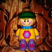Кукла девочка-трещетка Tolo, пищалка, игрушка