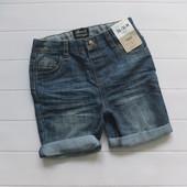 Джинсовые шорты для мальчика размер на выбор 9 мес- 3 года