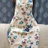 Шикарное коттоновое платье в цветочный принт от Asos, р. XL