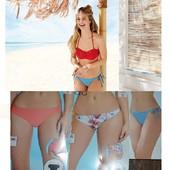 3 образа!! Стильный купальник esmara р. 36 евро с тремя плавками для комбинирования!