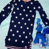 Обалденное сверкающее платьице на девочку 4-5 лет