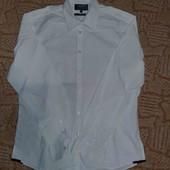 белая мужская рубашка с длинным рукавом Limited