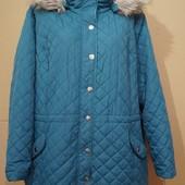 2 страницы лотов..Большой размер..Легкая стеганая курточка.. р 58-60-62..Пог 72