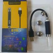 Лазер 3 насадки работает от USB