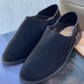 Замшевые туфли-лоферы. 2 цвета