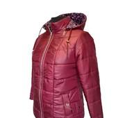 Демисезонная куртка батал 56 58 60