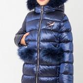 ♥ зимняя куртка-пуховик сабрина - 44 р(158-164) ♥