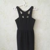 Шикарное фактурное платье в отличном состоянии