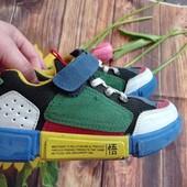 Наши кроссовки невероятно лёгкие и удобные р30 ножка 20см