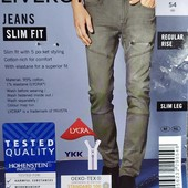 """Стильные модные мужские джинсы """"slim fit"""" Livergy Германия размер 54 (38/34)"""