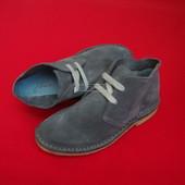 Ботинки Tom Jonle натур замша 32-33 разм
