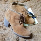 замшевые ботиночки размер 38