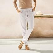 Классные льняные брюки Esmara Германия размер евро 38