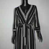 Качество! Стильное платье в полоску от шведского бренда H&M, новое состояние