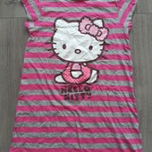 Яркое платье Hello Kitty! Германия! 122-128р.