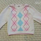 Хорошенький свитер на рост 86см