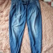 Zara, джинсовые штаны)