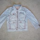 Крутая джинсовая куртка eager beaves
