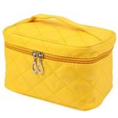 Косметичка чемоданчик на все случаи жизни . Цвет желтый