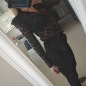Кружевная блуза в стиле бохо H&M