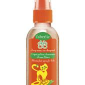 Детский спрей для волос с блестками «Кошка Манго»
