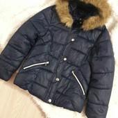 Стоп! Стильна брендова  демі Куртка zara !!на дівчинку. 11-12р.стан нової!