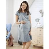 Esmara Германия Летнее шикарное платье для беременных и кормящих 100% коттон 34р евро