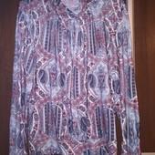 Женская блуза. Ткань масло. Размер евро 40