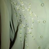 роскошные блузы для женщин, шифон, ниже закупки отдаю! читаем лот! размеры до 68см ПОГ! батал!