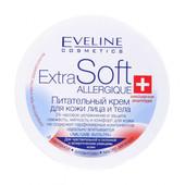 Крем для обличчя та тіла Eveline extra soft Універсальний для чутливої шкіри поживний, 200мл