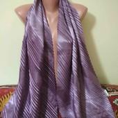 атласный шейный шарфик