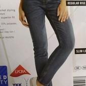 Классные женские джинсы skinny fit Esmara Германия размер евро 36