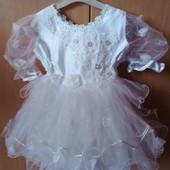 Наряднле платье для маленькой.леди 2-4 лет