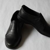 Мужские туфли натуральная кожа (на резинке) от производителя