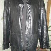 удлиненная стильная куртка Кожа
