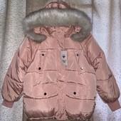 Куртка оверсайз с капюшоном,тренд 2021 размер XL