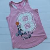 Майка для девочки 8-10 лет Looney Tunes нюанс