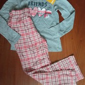 Pepperts пижама, штанишки тепленькие р.122/128