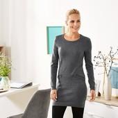 Шикарная теплая туника, длинный пуловер от Tchibo(Германия), размер 50/52 (44/46 евро)