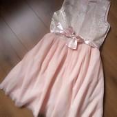 Нарядное платье Mango для девочки 11-12 лет