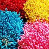 400 тичинок для рукоділля різних кольорів. Укрпошта -10%